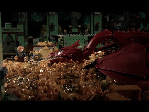 LEGO The Hobbit in 72 Seconds