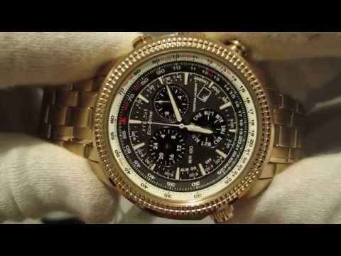 Обзор мужских наручных часов Citizen Eco-Drive Perpetual Calendar Chronograph BL5403-54E