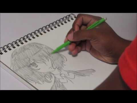 Quick Sketch - Misaki Mei