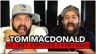 "DON'T IGNORE TOM!! Music Reaction   Tom MacDonald - 'Exposure"" (*PURE BARS!!)"