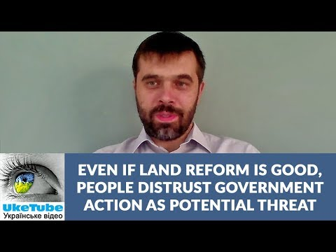 Biggest problem to land reform in Ukraine is fear, Denys Nizalov