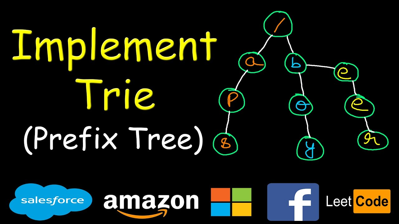 Implement TRIE | Leetcode #208 - YouTube