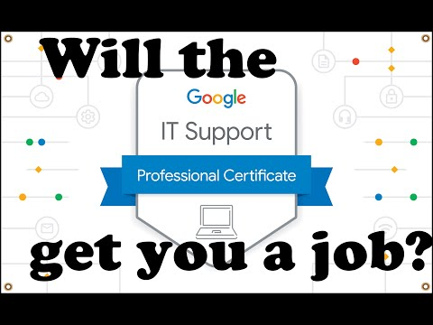 Will The Google IT Support Professional Certificate Get You a Job? (PROOF!) #growwithgoogle