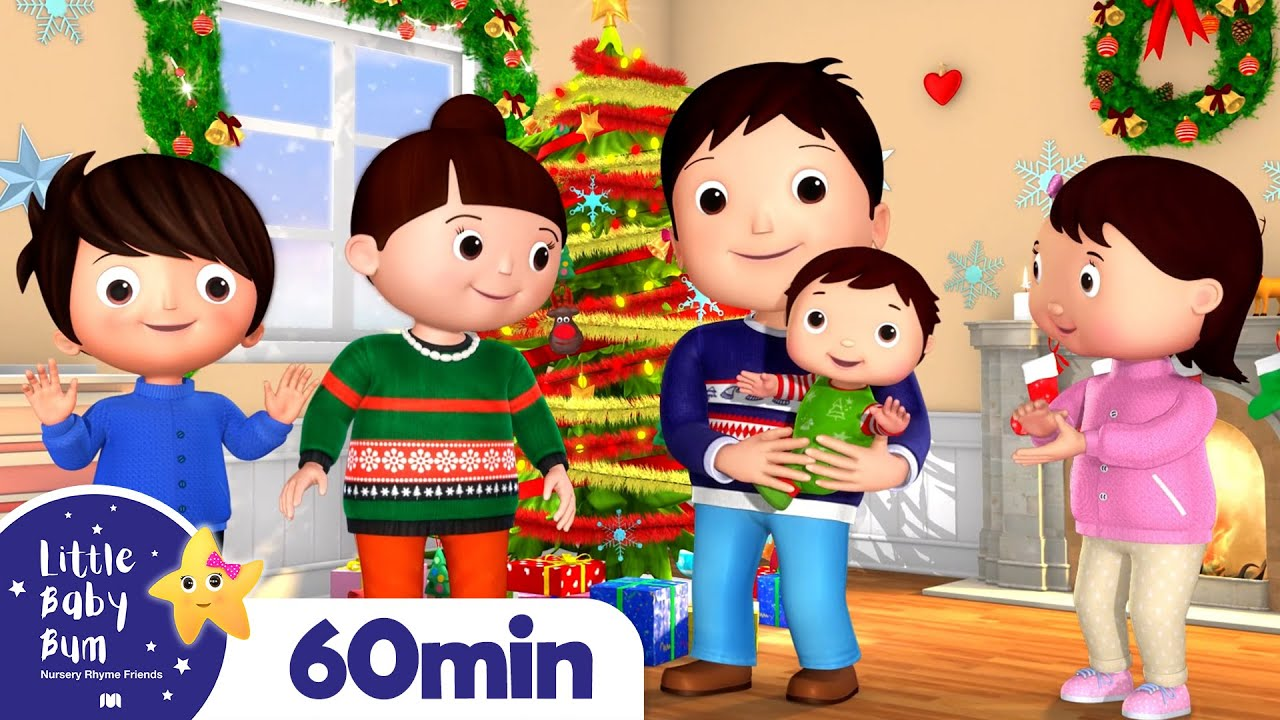 Christmas Finger Family | Kids Songs & Nursery Rhymes | Little Baby Bum