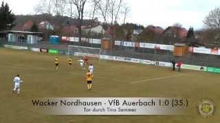 VfB tv: Alles zum Spiel Nordhausen gegen Auerbach