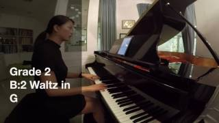 Grade 2-B2 Waltz in G ( No.2 from Poklad melodii, Vol.2)