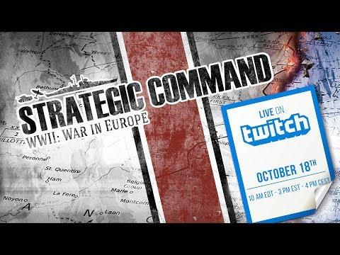 Strategic Command  4-6 PM CEST 18th of October!