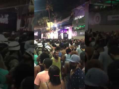 Capitão  Ze Grilo no carnaval de Salvador