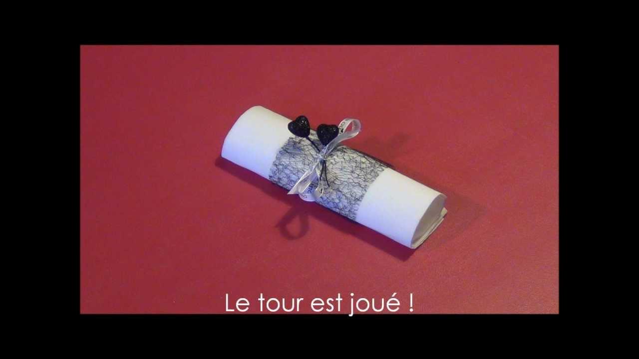 Confectionner un rond de serviette baroque youtube - Rond de serviette noel a faire soi meme ...