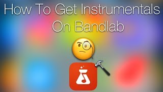 Gambar cover How To Download Instrumentals For IOS And BandLab Users