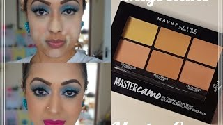 Review & Demo: Maybelline Master Camo Colour Correcting Concealer Kit - Medium
