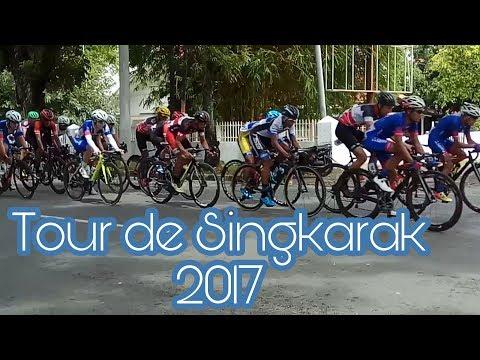 Tour de Singkarak (TDS) 2017 Stage 1 (ALL PARTICIPANTS) Jln. Veteran Padang 18-11-17