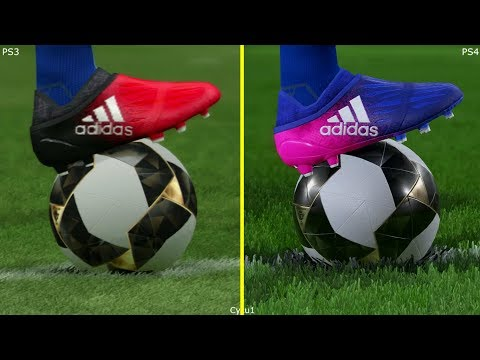 Pro Evolution Soccer 2017 FC Barcelona PS3 vs PS4 Pro Graphics Comparison