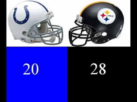 Prediction for the 2011 NFL playoffs