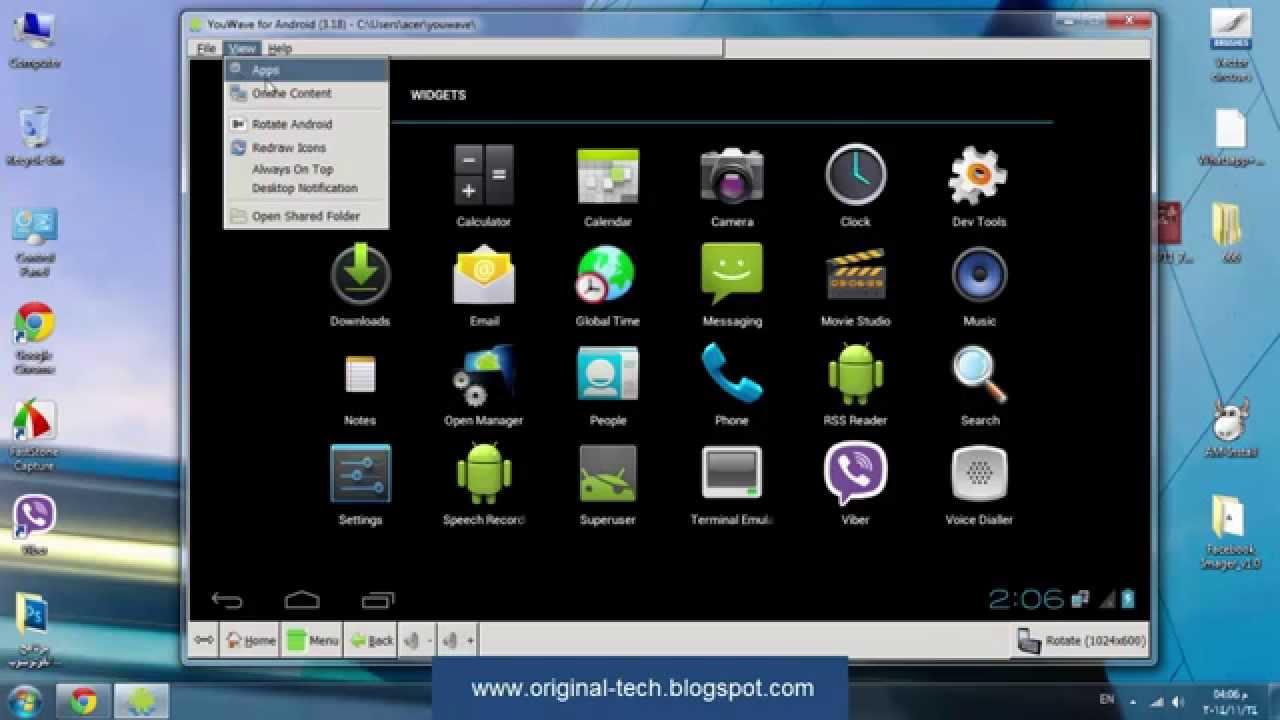 برنامج سريع وخفيف لتشغيل تطبيقات الاندرويد على الكمبيوتر