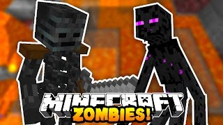 "Minecraft ZOMBIES ""THE ULTIMATE HIDING SPOT!"" #3 with Preston & Kenny"
