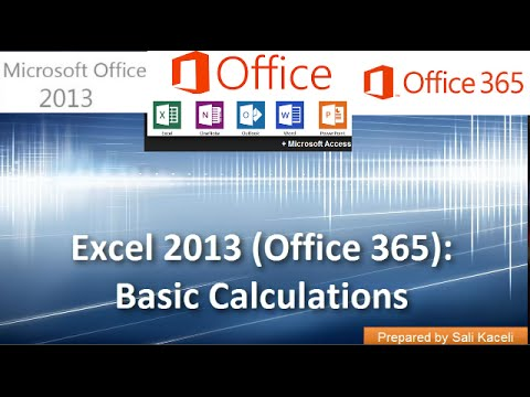 how to find average in excel 2013