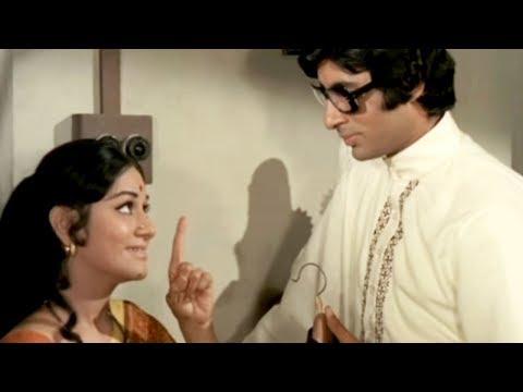 Amitabh Bachchan, Aruna Irani, Sanjog - Scene 1/28