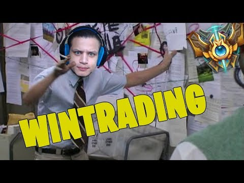 DETECTIVE TYLER1 ON RAMPANT WINTRADING IN CHALLENGER (PROOF INSIDE - WATCH THIS RIOT)