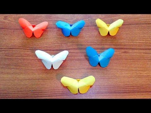 How to Make a Pretty Paper Butterfly Easily