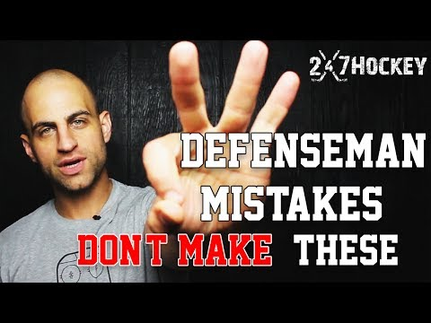 Top 3 Mistakes Defenseman Should NEVER Make in a Hockey Game