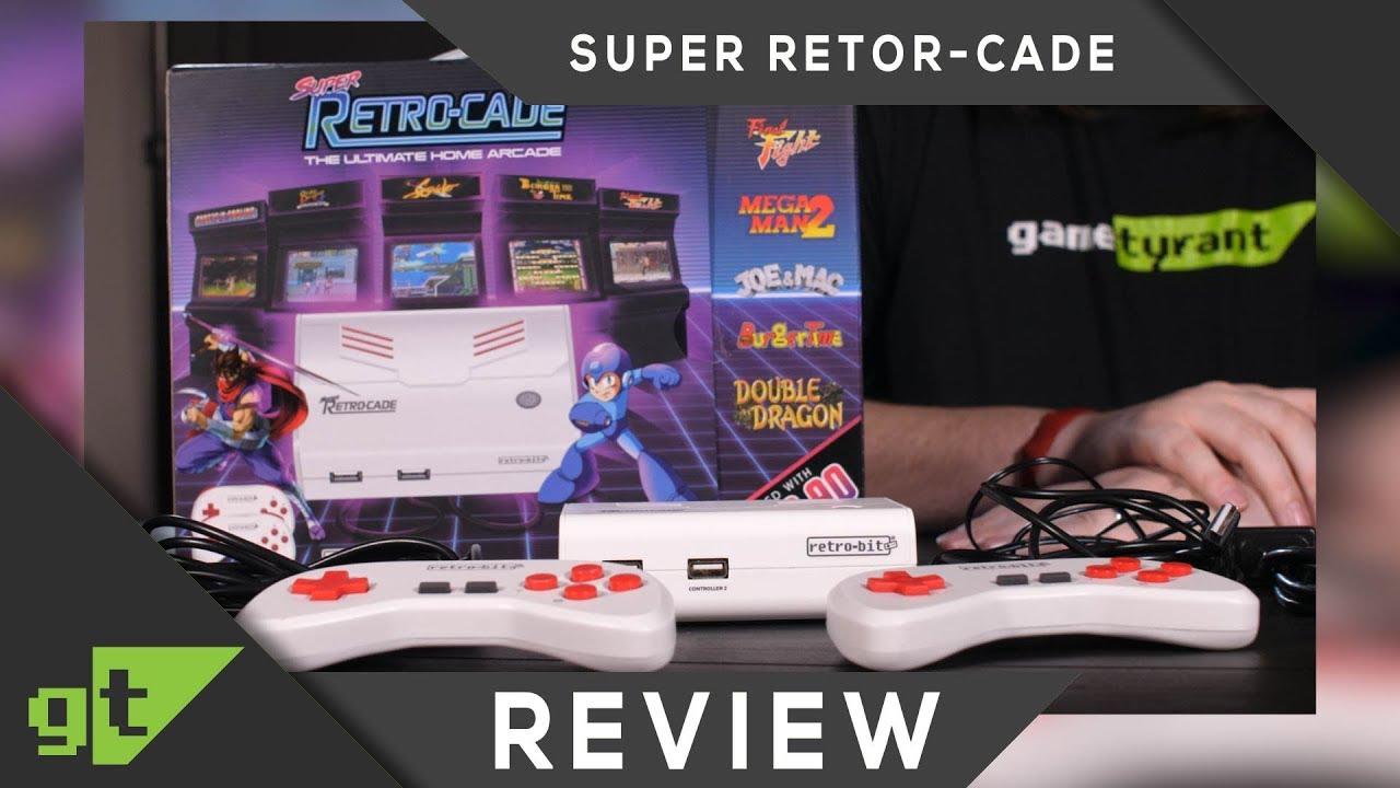 Retro-bit Super Retro-Cade A Pleasant Surprise! — GameTyrant