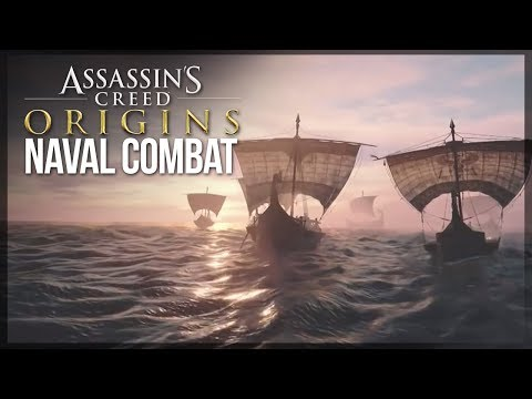 NAVAL COMBAT DETAILS! | Assassin's Creed Origins - What Is The Naval Combat Like?