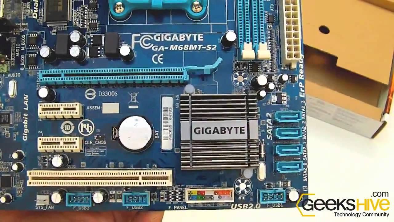 gigabyte ga-m68mt-s2 drivers