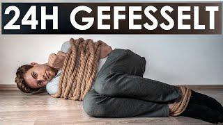 1 Tag GEFESSELT + Entfesslungs-Trick | Selbstexperiment