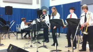 "Arden Middle School 2011 Jazz Combo ""Next In Line"""