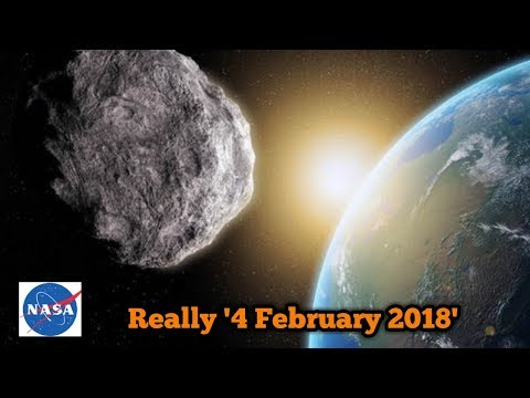 """""""ASTEROID IMPACT"""" ON FEBRUARY 2018 LATEST NEWS UPDATED BY NASA ."""