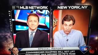 Chris Russo vs the MLB Network about Pete Rose