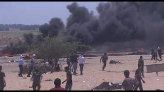Violent protests turn deadly in Gaza as U.S. Embassy opens in Jerusalem