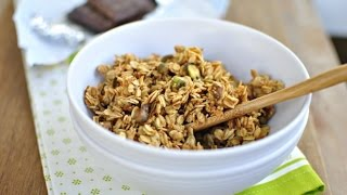 Spiced Pistachio And Toasted Coconut Granola