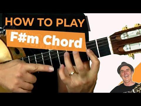 F#m Chord - Learn The F Sharp Minor Guitar Chord Easily