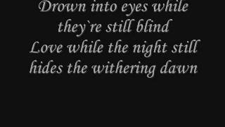 Repeat youtube video Nightwish - While your lips are still red (lyrics)