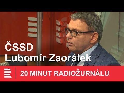 Lubomír Zaorálek: Referendum o vystoupení z EU hrozí v případě dalších kvót