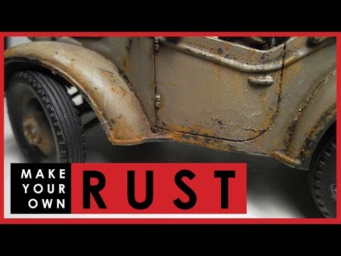 How To Make Your Own RUST For Weathering Scale Models