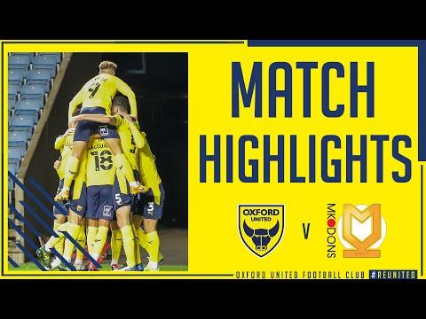 Oxford Utd Milton Keynes Goals And Highlights