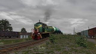 Railworks 3 ТЭМ-2