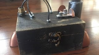 Steampunk Everything - Tea Box #1 Diy