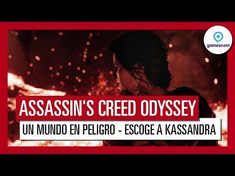 """Assassin's Creed Odyssey: Gameplay Tráiler """"Un Mundo en Peligro"""" - Gamescom 2018 - Kassandra"""