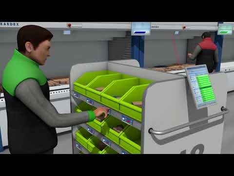 Kardex Remstar Power Pick Global - Multi-User-Picking