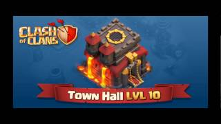 Clash of Clans Update Info - Town Hall Level 10! Attack Replays, X-bow Level 4 and MORE!
