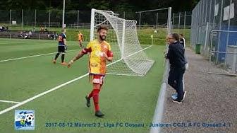 12 08 2017 FC Gossau 2 (gelb/rot)  -  FC Gossau Jun  A (blau) 4:1