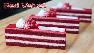 Cup measure / Beautiful Soft and Fluffy Red Velvet Cake Recipe / Cream Cheese Frosting