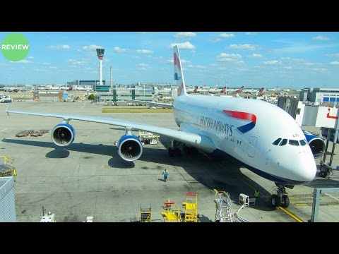 British Airways A380 Economy Class Review | London to Los Angeles Flight Experience!