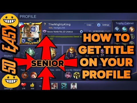 How To Get Title In Mobile Legends