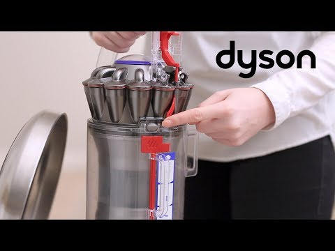 Dyson Ball™ Animal 2 upright vacuums - Emptying and cleaning the clear bin (UK)
