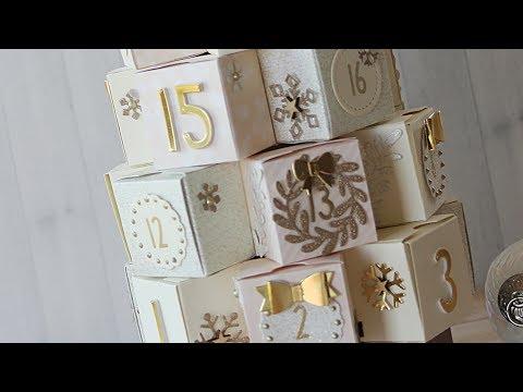 How to make an elegant Christmas Advent Calendar